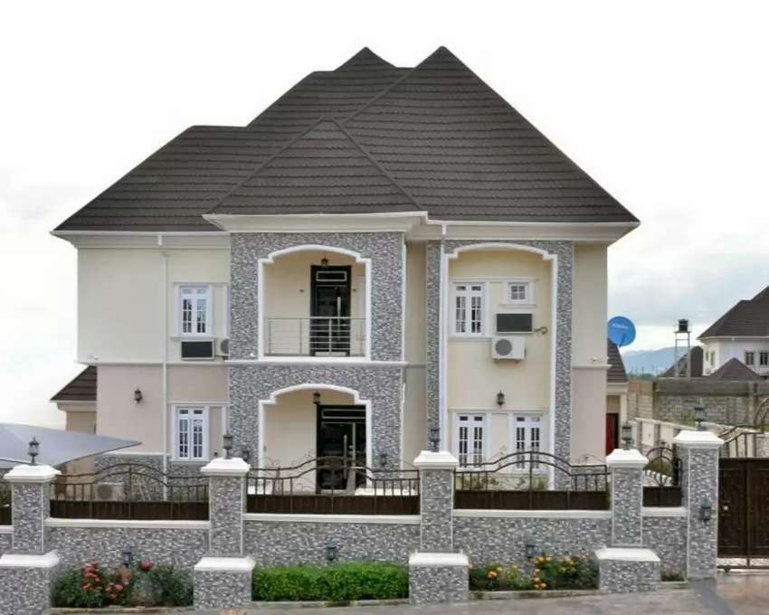 A Smart 5Bedroom Duplex with a 2Bedroom BQ For Sale at Gwarinpa 0