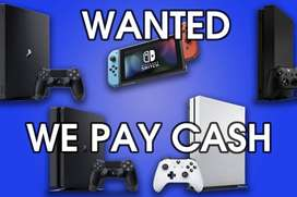 WANTED : We pay CASH for your used machines & accessories