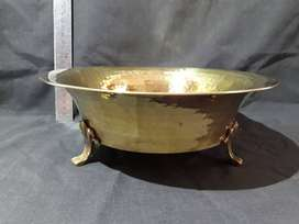 Fruit Bowl on Legs (Brass)