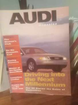 Audi, older models, magazine