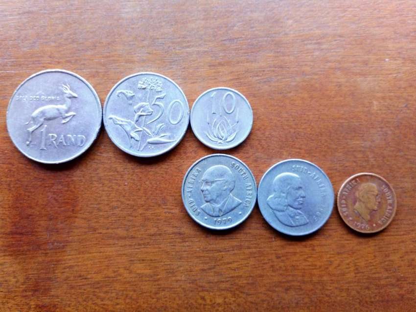 SOUTH AFRICAN Coins For Sale 0