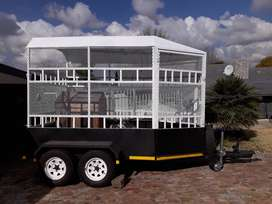 Cattle / Horse Trailer for sale.