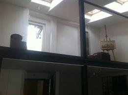 Loft antresola zabudowa konstrukcja stalowa schody krecone spiralne