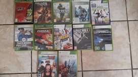 Xbox360 and 12 game and a kinect