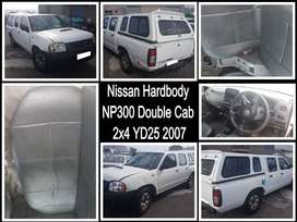Nissan Hardbody NP300 Double Cab 2x4 YD25, 2007 for spares