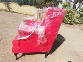 Brand new Wingback chairs at R3k each