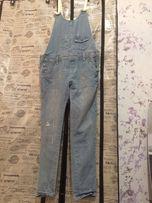 Женский джинсовый комбинезон( фасон бойфренд), размер S