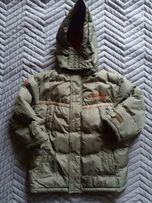 Kurtka zimowa dla chłopca rozmiar 116