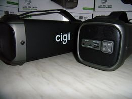 BLUETOOTH Бумбокс Cigii FS с МР3(microSD,USBфлешка) FM-радио30W