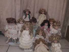 Porcelain dolls 1without stand
