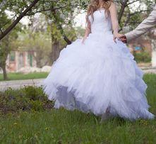 """Свадебное платье """"лебедь"""" 12 500 руб."""
