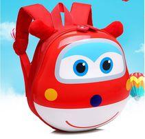 Рюкзак детский дошкольный 3D ортопедический с героями Супер Крылья