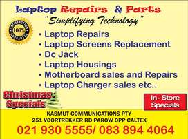 Used and New Laptop Parts snd Repairs