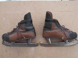 коньки хоккейные СССР, 27,5 см по стельке