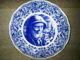 Делф. Фарфор. Настенные тарелки