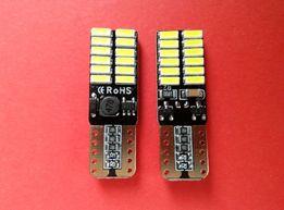 Żarówka LED T10 W5W CANBUS JAKOŚĆ sprawdzone mocne ładna barwa