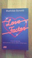 Książka Love Factor Mathilde Bonetti