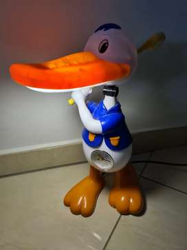 Duck lamp and clock