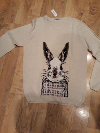 Sweter z królikiem L Wodzisław Śląski - image 1