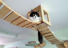 Кот,развлечение для кошек,дом для котов,когтеточка,мебель для кот,мост