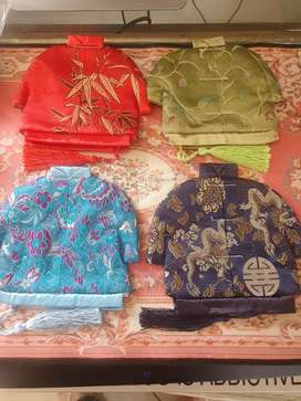 Coin purses. Chinese Jacket