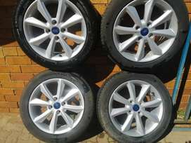 Ford Fiesta Set of Mags and Tyres for sale at Machams motor spares