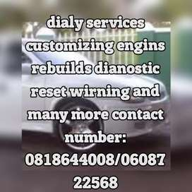 Daily services and customizing all tipe of verciles