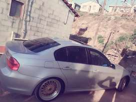 The car has stunning gold BBS rims, sun roof and leather interior