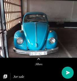 Vintage vw beetle in good condition