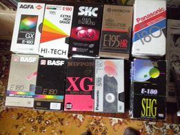 Видеокассеты с записями