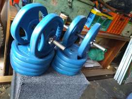 60kg removable dumbels