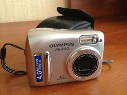 Цифровой фотоаппарат Олимпус+карта памяти+чехол