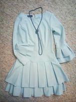 Sukienka Roco, rozkloszowany dół i rękawy, rozm S, wysyłka gratis