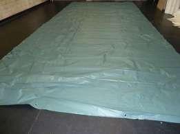 Plandeka z reklam gruba pcv 2,5x5 5x5 8x5 10x5 600g/m2 biała rolnicza