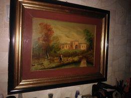 Картина маслом на холсте. Италия 60х48 см