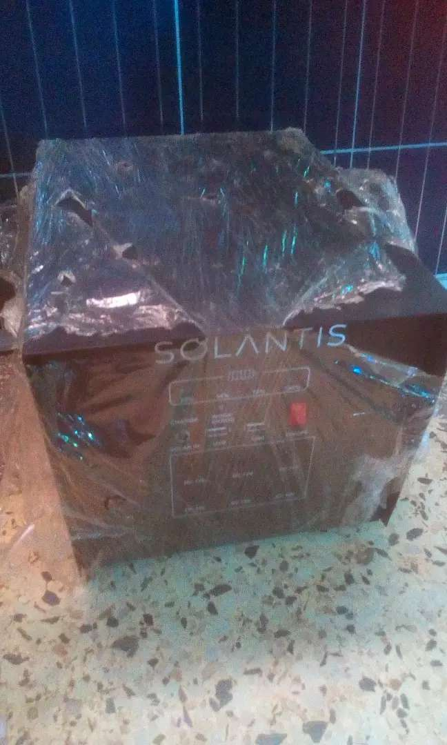 Solar kit supporting tv and woofer self install 0
