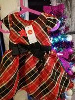 NOWA Śliczna Sukienka Cool Club Roz.86 Super na Święta,Kupiona w Smyku