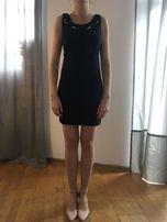 Elegancka sukienka z ozdobnym kołnierzykiem - MOHITO, rozmiar 36