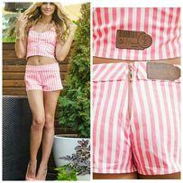 Костюм розовый, джинсовые шорты, жилетка