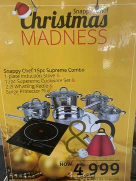 Snappy chef combo