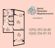 Просторная двухкомнатная квартира на Восточном