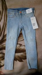 Крутые джинсы HM для девочки 5-6 лет