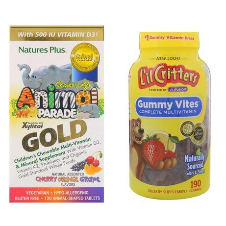 Animal Parade Gold, Lil Critters мультивитамины для деток Iherb