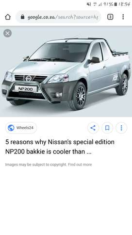 Looking for np 200 nissan bakkie in good condition
