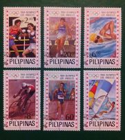 1984 год Марки Филиппины Олимпиада Лос-Анджелес