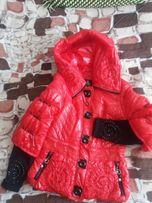 Куртка курточка демисезонная,размер s.