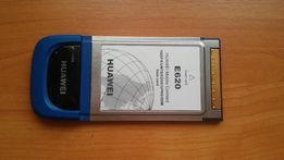 Huawei E620 3G PCMCIA модем мобильный интернет GPS EDGE, GPRS, GSM