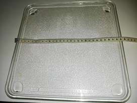 Microwave Glass Plate 29cm 11.5in Square