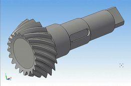 Чертеж для лазерной резки, фрезеровки 3D деталей на станках с ЧП