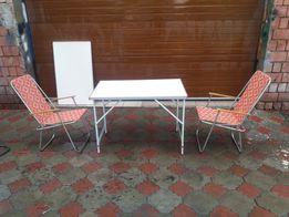Новый столик туристический алюминиевый.